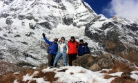 Ghorepani Poon Hill with Annapurna Base Camp