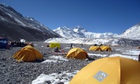 International Everest North Col Expedition from Tibet Side