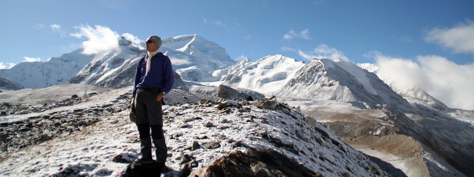 Expedition in Tibet, Cho Oyu Climbiong Route