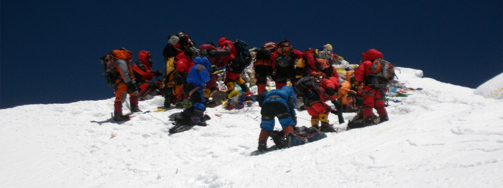 Mount Everest South Col Summit Nepal side