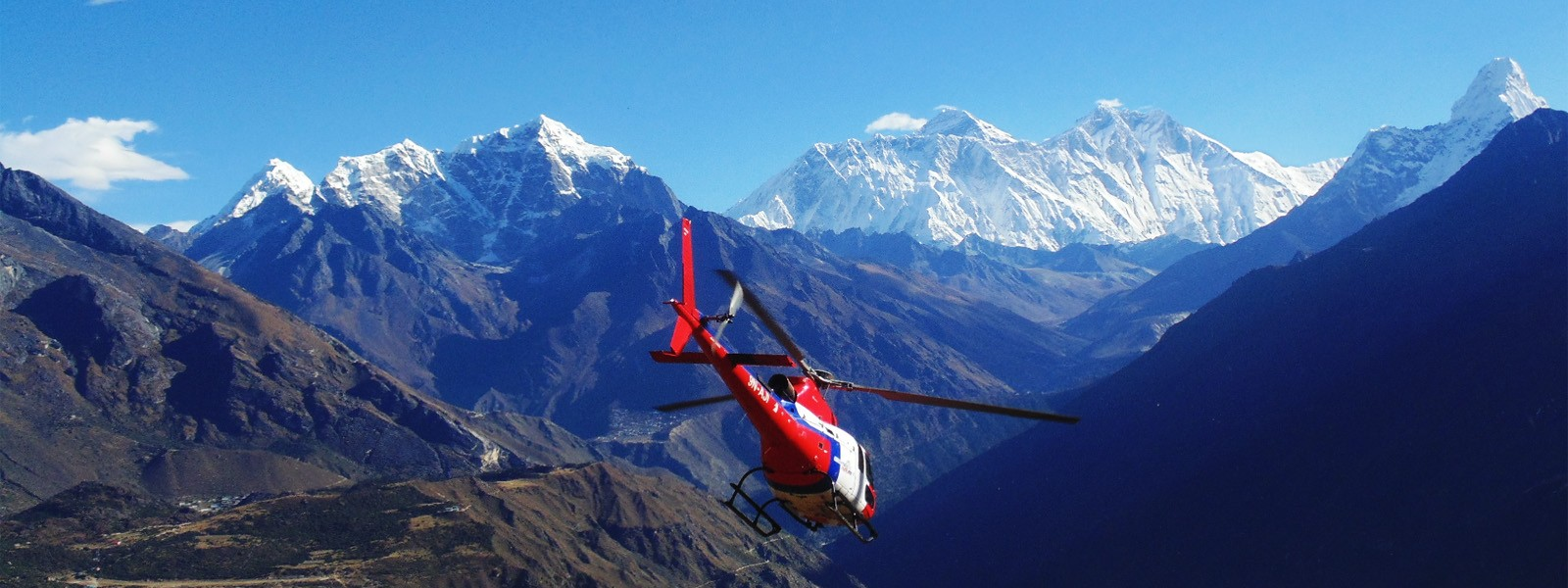 Helicopter Flights to Everest