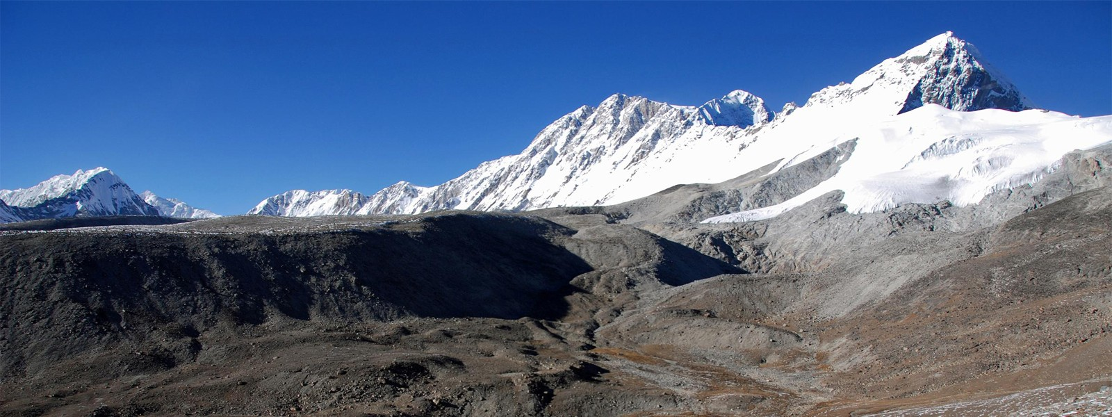 Mt. Shishapangma southwest face expedition in Tibet region