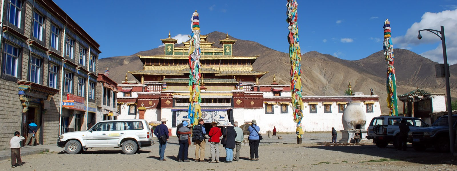 Ganden and Samye Monastery Tours in Tibet