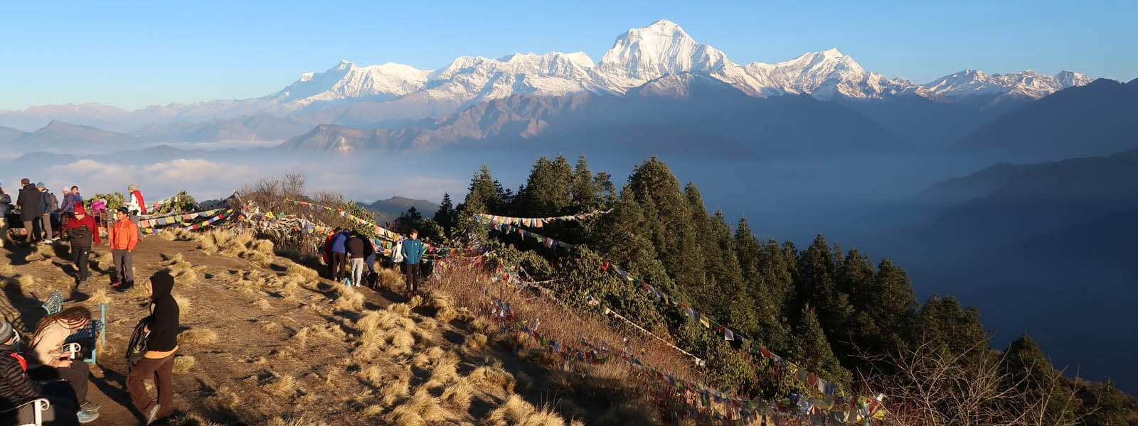 One of the world's classic pilgrimages trekking around the entire Annapurnarange
