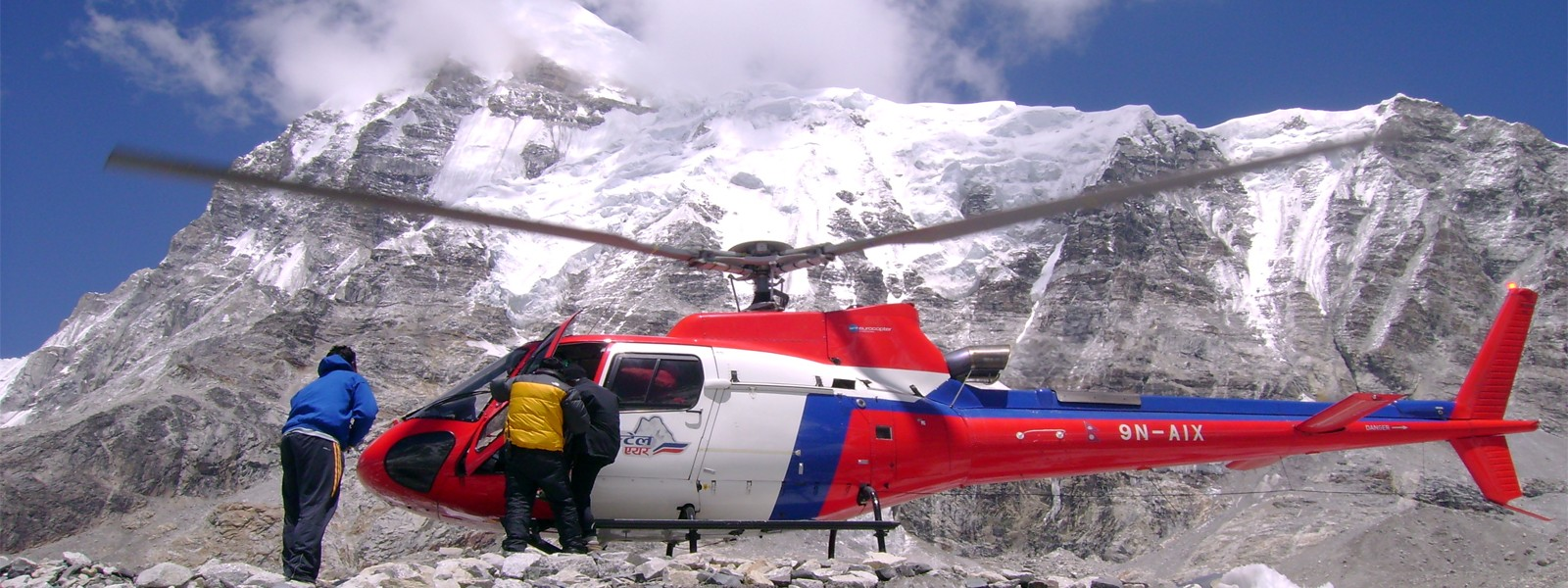 Nepal Helicopter Rescue