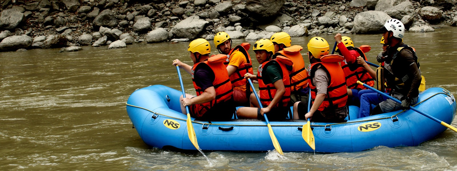 River Rafting activities