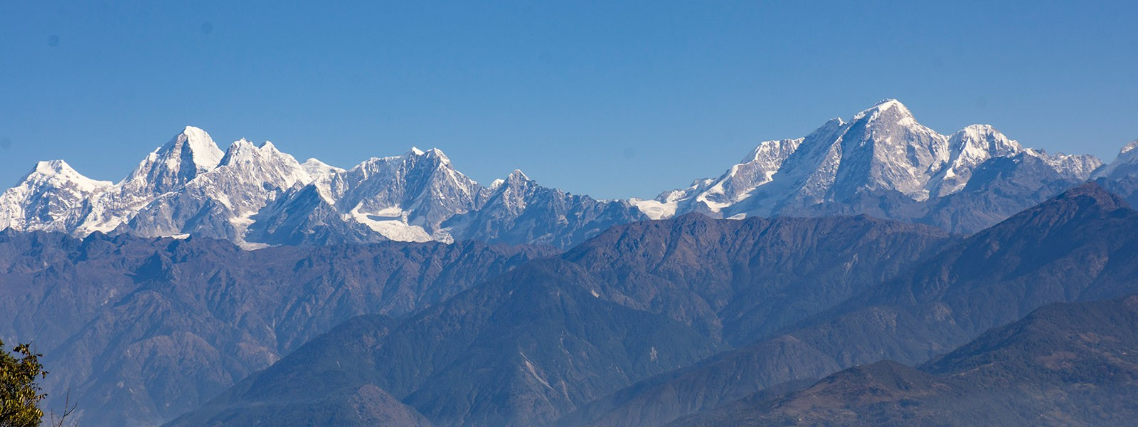 Day Trip in Nepal - Mountain view from Nagarkot Hill