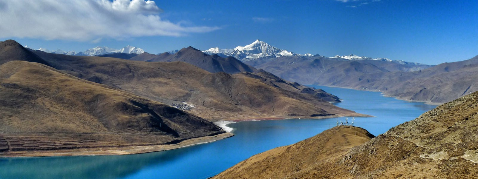 Beijing Lhasa and Kathmandu Tours - Yamdrok Lake