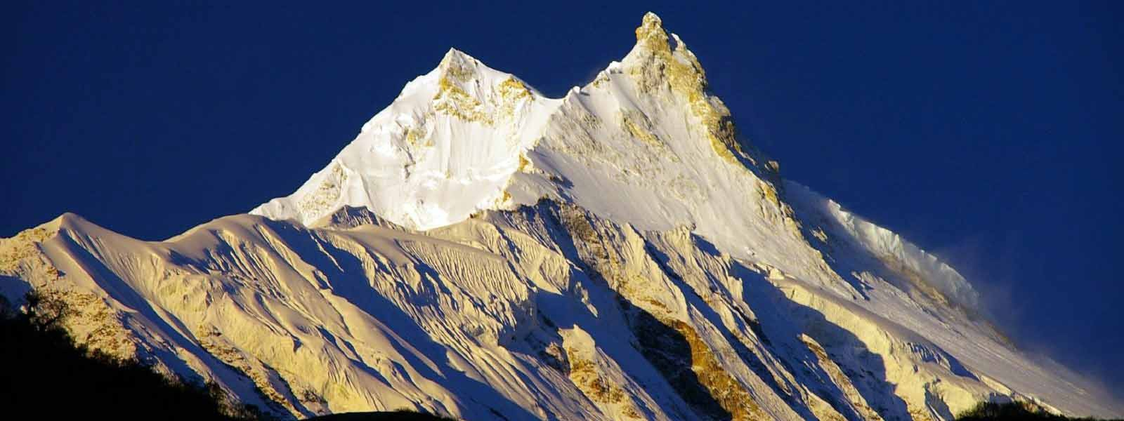 Mount Manaslu summit