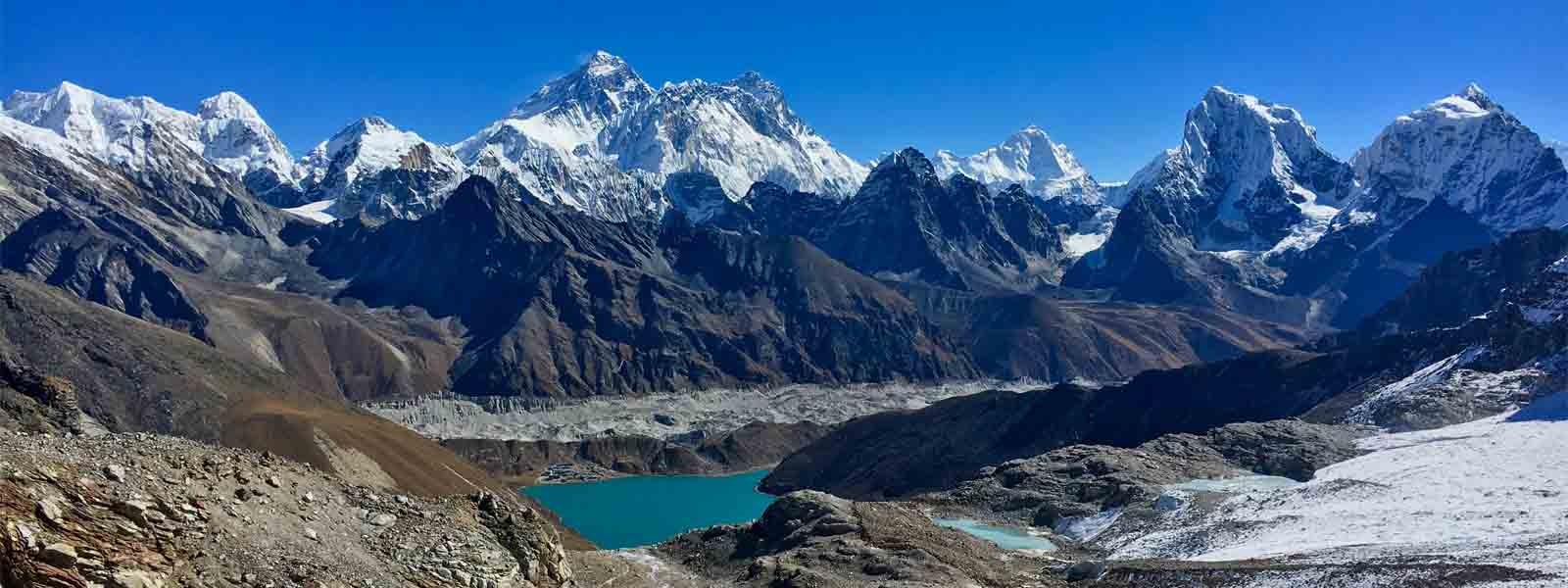 Mt. Everest Views from Gokyo Ri Peak