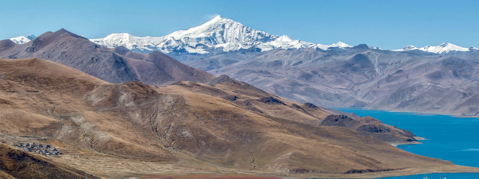 Ganden and Samye Monastery trekking with Yamdrok Lake