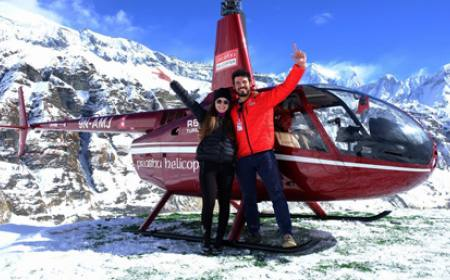 Annapurna Base Camp Heli Day Tour