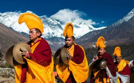 Everest View and Mani Rimdu Festival