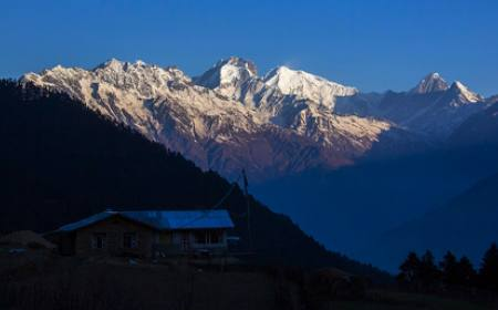 Ghatlang Village and Langtang Trek