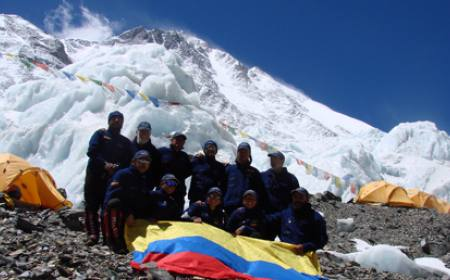 International Everest North Col Expedition - Kyirong