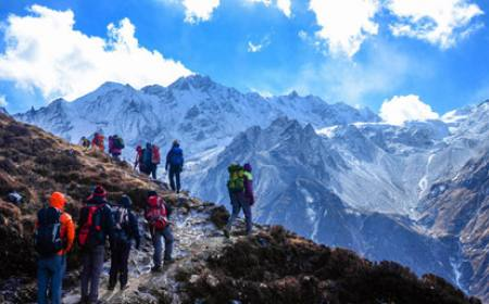 Langtang and Ganja-La Pass Trekking