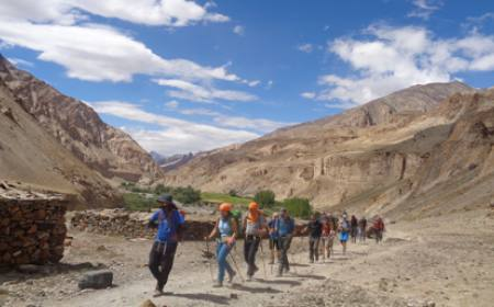 Markha Valley Trekking